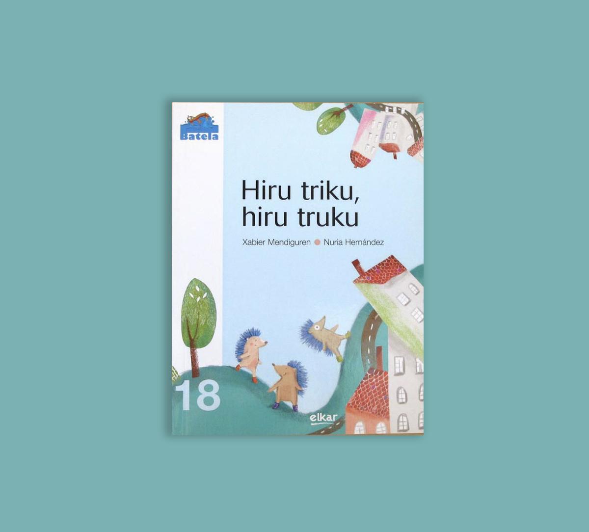 Libro infantil Hiru Triku