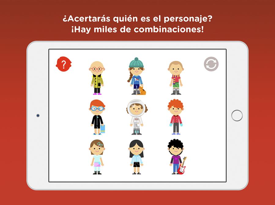 Ilustraciones app infantil