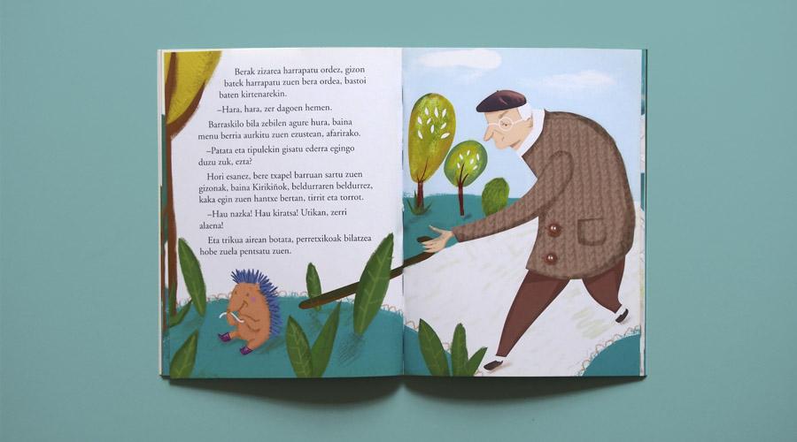 libro infantil ilustrado