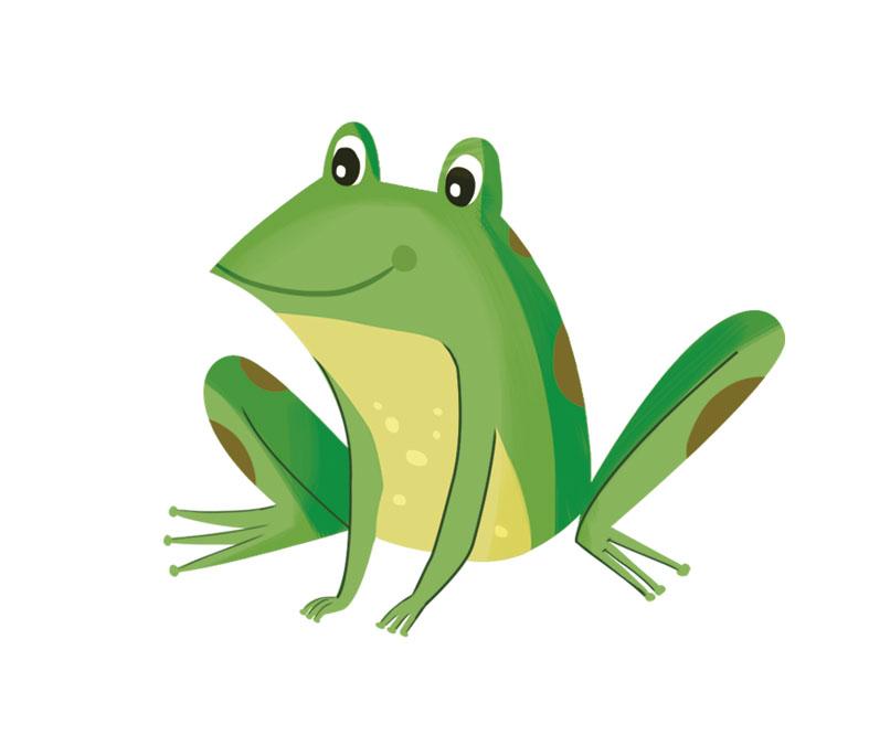 ilustración rana