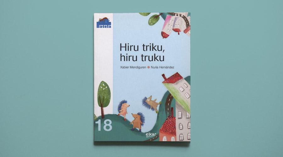 HIRU TRIKU ilustración infantil