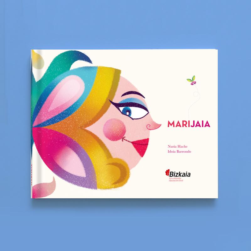 Libro ilustrado Marijaia.